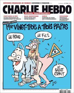 charlie hebdo, mariage homo